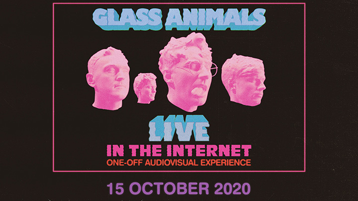 JUST ANNOUNCED: @GlassAnimals have reimagined their renowned live show for a one off virtual performance on 15 October 2020 to launch their new album. On sale 09:00 Fri >> https://t.co/uPhxv4PIaF https://t.co/C5h6X9vDat