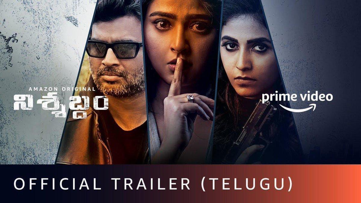 What's your take..?? #Nishabdham Trailer is intriguing..! #NishabdhamOnPrime  Link: https://t.co/zlm6dFXzcQ  #AnushkaShetty @ActorMadhavan @yoursanjali @actorsubbaraju #ShaliniPandey @hemantmadhukar #SoCalledCinema https://t.co/nWFt0sYzHu