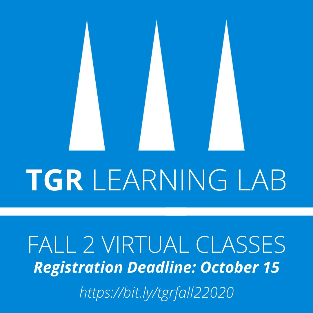 TGR Learning Lab is now accepting registration for the Fall 2 Virtual Session! The six week session includes classes in cybersecurity, web design, and more! Questions? Email Mrs. Bennett (bennett_v@auhsd.us). #KHigh4Life @TGRFound   REGISTRATION & INFO: https://t.co/KHUyUeNgLd https://t.co/c3Uo1Xggqp