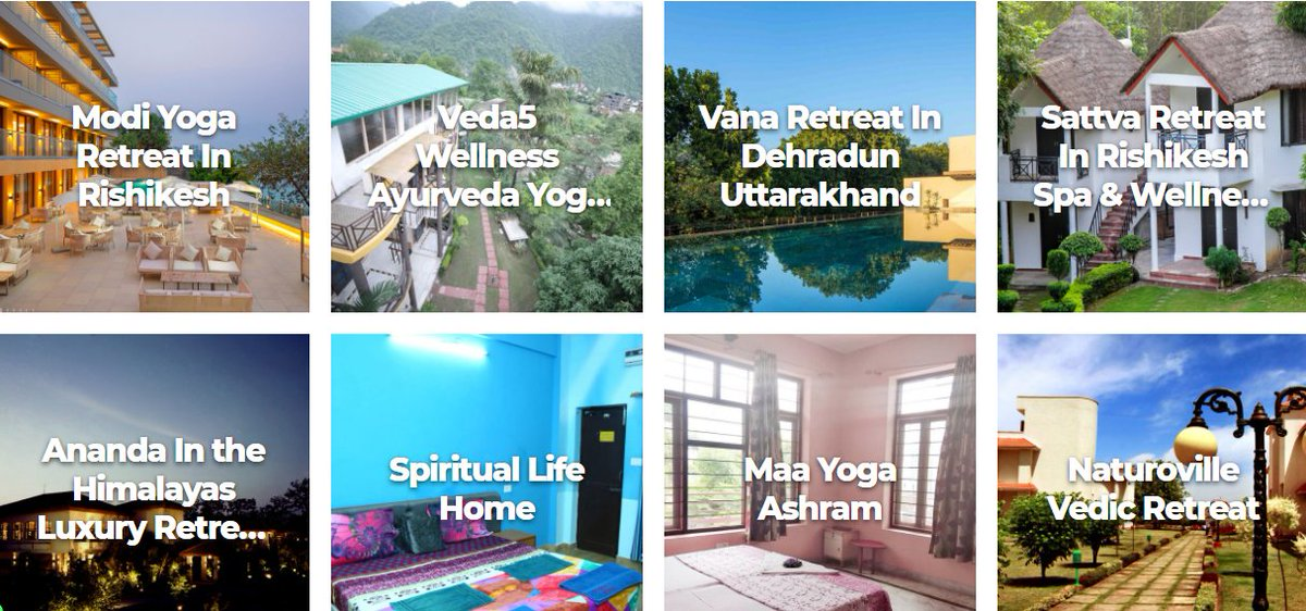 Rishikesh in Uttarakhand offers best package deals in the comfort of personal cottages by professional Ayurveda therapists. https://t.co/VFA0o88V45 #ayurvedaresortsinrishikesh #rishikesh #ayurveda #naturoville #ananda #vana #modiretreat #veda5 #sattva #maayoga #naturopathy #yoga https://t.co/h8zsMaAm1b