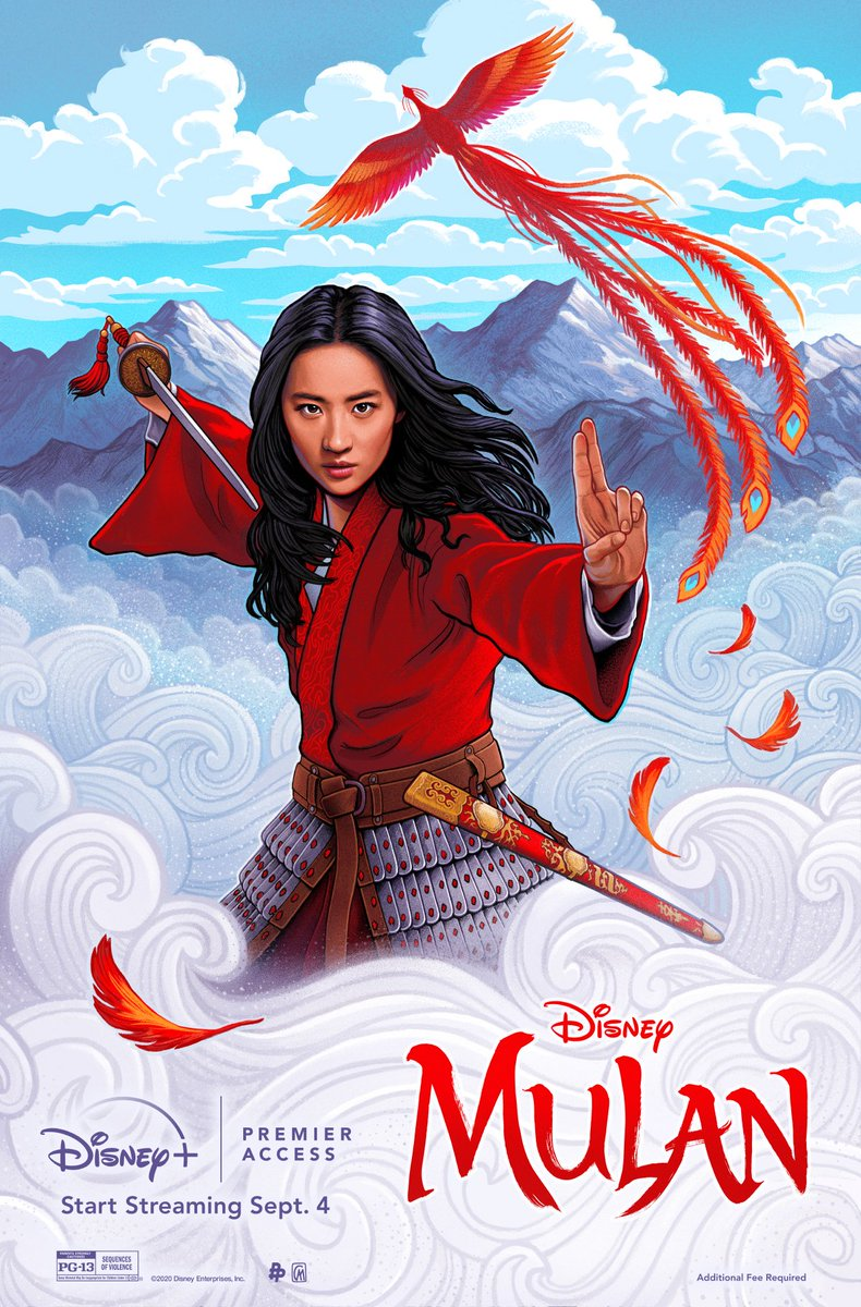 Stream Disney's #Mulan today exclusively on #DisneyPlus with Premier Access. For more info: https://t.co/iy94t8jFst https://t.co/UN6BceMjwY