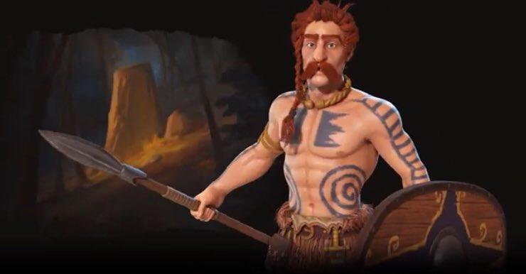Ambiorix in Civilization VI, mijn bronsgroen eikenhart loopt over van trots ⚔️💚  #limburg4life https://t.co/hFIgy01JvA https://t.co/v64TpMYT2p
