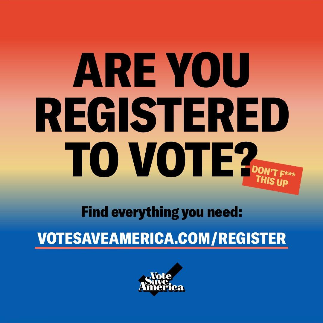 Resgister to VOTE!!!!