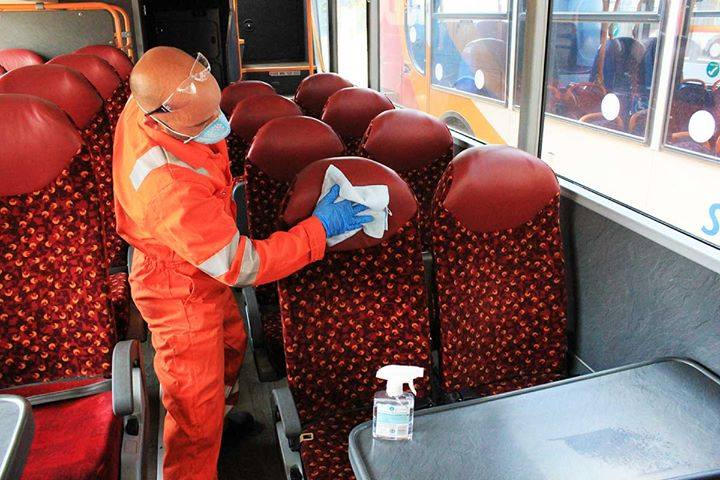 Improved on board cleaning and the installation of  hand sanitisers are just a few measures we have taken to ensure  the safety of our passengers.  Check out our FAQs for further details on reduced capacity and seating arrangements > https://t.co/1NGnLjGOk6 https://t.co/q0sbStIILI