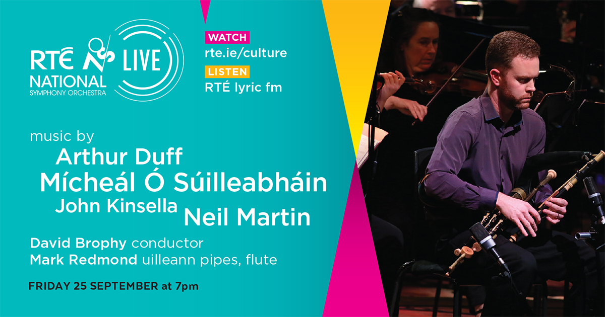 This Friday, at 7pm. Live-streamed in HD on @RTE_Culture  and live on @RTElyricfm @RedmondMr @rte #rtensolive https://t.co/FMAhSk4Epy