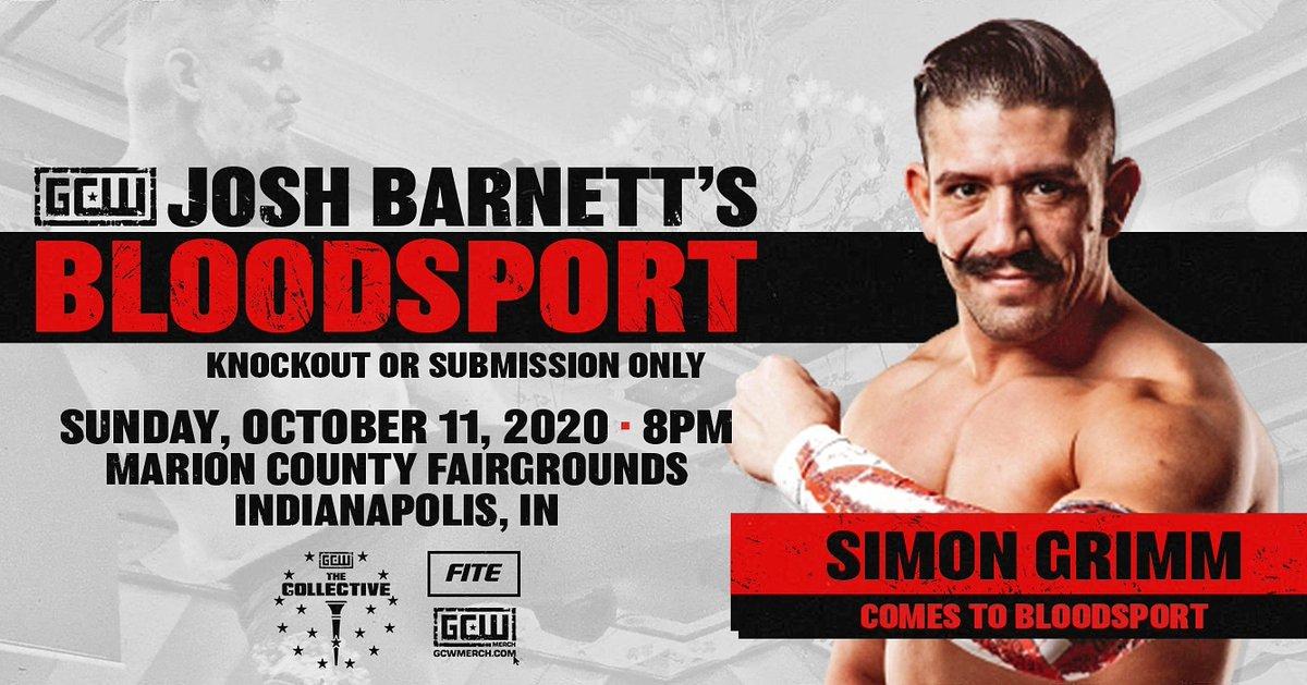 Josh Barnett Announces First Two Matches For Bloodsport III