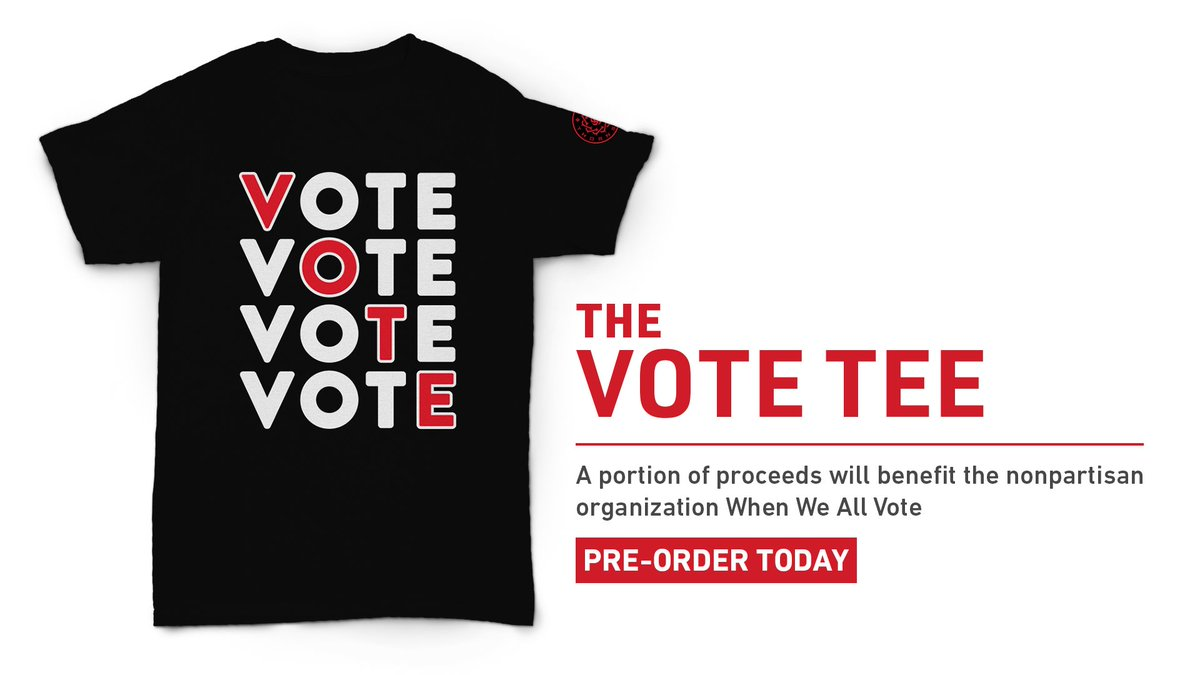 Nothing is more important than your voice. Let the world know you plan to #BeHeard with a Thorns VOTE tee, benefitting @WhenWeAllVote. Get yours: ow.ly/fD6930rbdK3 | #BAONPDX