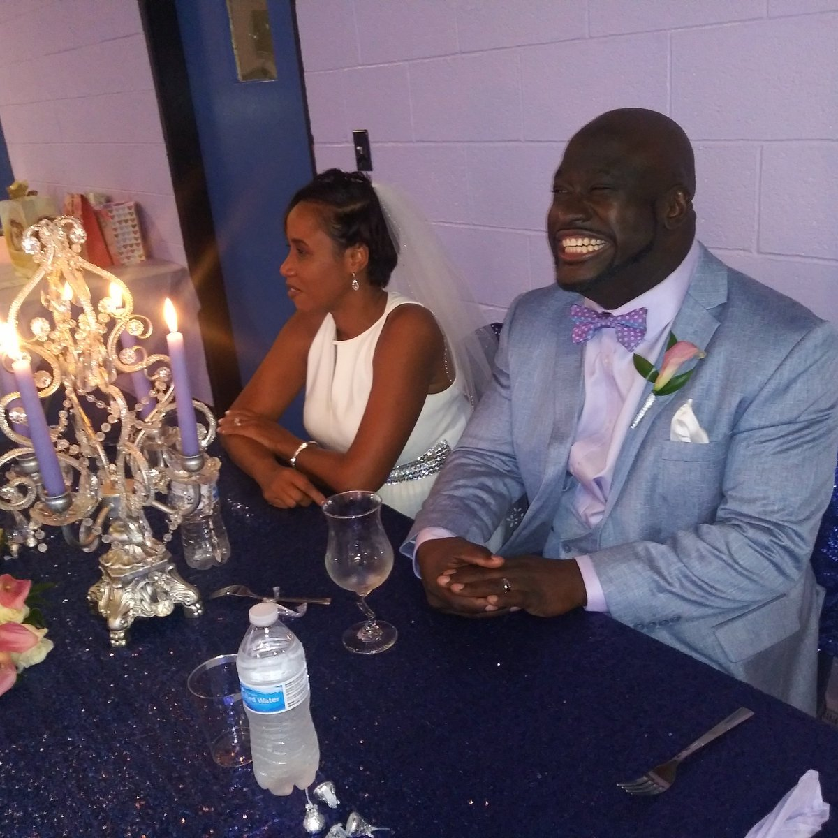 #Congrats to #MyBro #KevonMalcolm & #DianMalcolm on their wedding last weekend. #wedding #Columbus #Ohio #Congrats https://t.co/fOD4Co0GvI