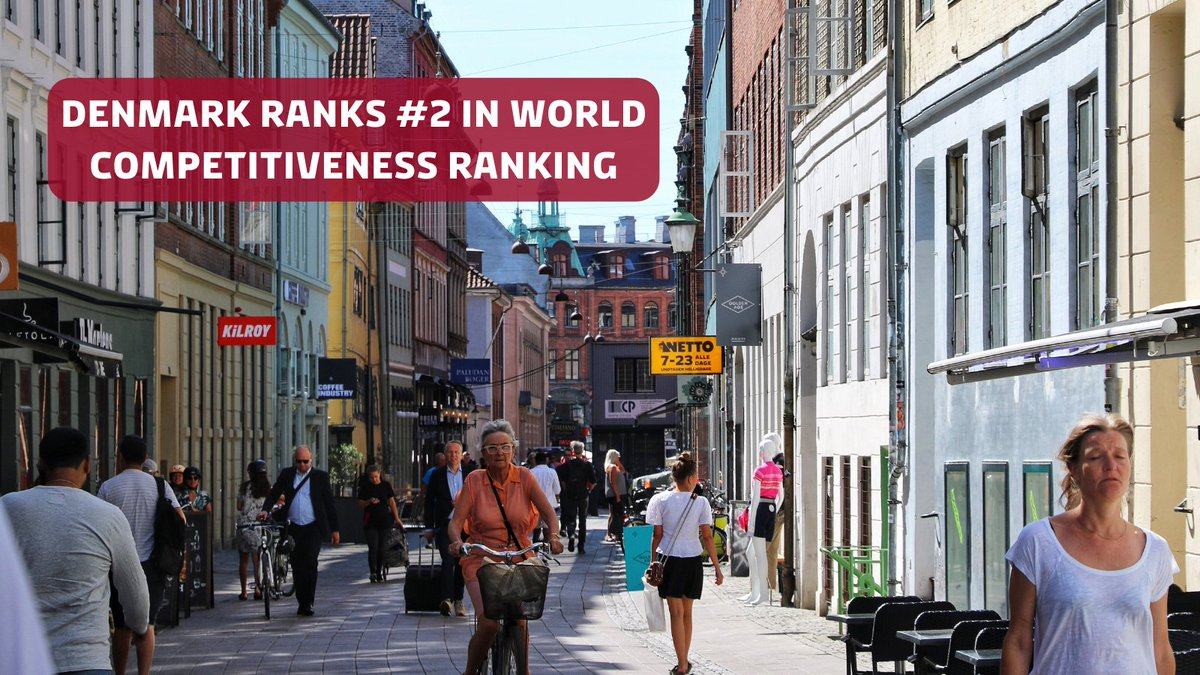 Did you know that Denmark has one of the most competitive economies in the world?  The Danish economy is ranked in second place by the @IMD_Bschool ranking 2020!   Read more: https://t.co/geSD8yW2gm #DenmarkinUSA https://t.co/a7jnnEl0Nk