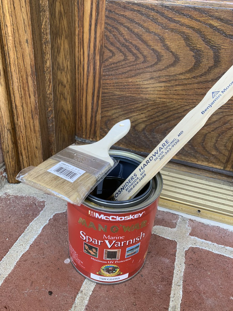 This is the perfect weather for outside painting or in my case for varnishing the front door. #weather #WFH #wusa9weather #dcwx #mdwx #vawx #fall @wusa9  @hbwx @miriweather @chesterlampkin @strosniders   https://t.co/SfB1rSM3Zs https://t.co/EHSV0BjvOg