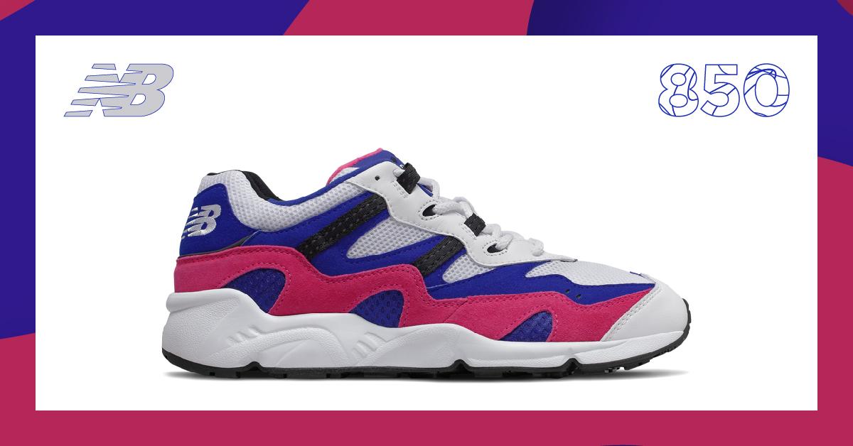 El #850 trae de vuelta el estilo de los 90 y la comodidad atemporal. 🔥🔥🔥  Encuentra tu color favorito >> https://t.co/CBRgQ7T2tf  #ConectadosParaMovernos #TiendaOnline #NewBalanceCO https://t.co/jFaWcYtfYc