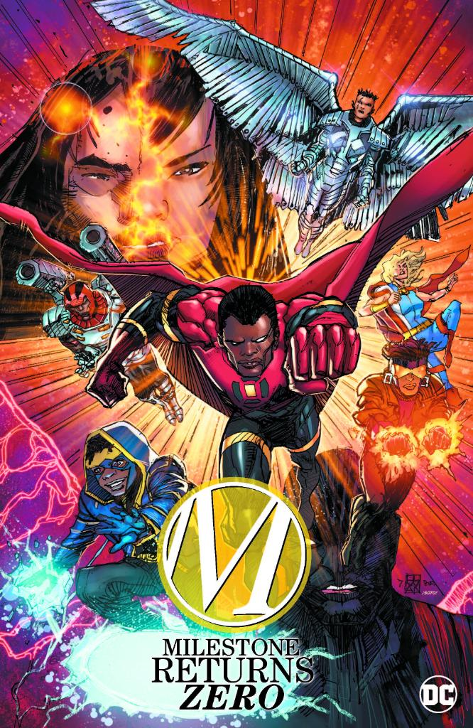 It's time for a comeback ⚡️ @DenysCowan chats about the return of #DCMilestone with @TheRoot here: https://t.co/kPCUxTBQRp https://t.co/QLIrENLowo