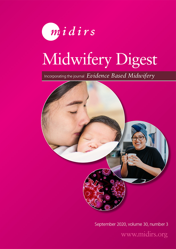MIDIRS Midwifery Digest is an essential resource for midwives, MSWs and student midwives.  Every quarter you will receive the latest developments in maternity care to support your CPD. Subscribe today to receive the December issue: https://t.co/oT60gTCETg  #Midwives2020 https://t.co/GnVFihUMTT
