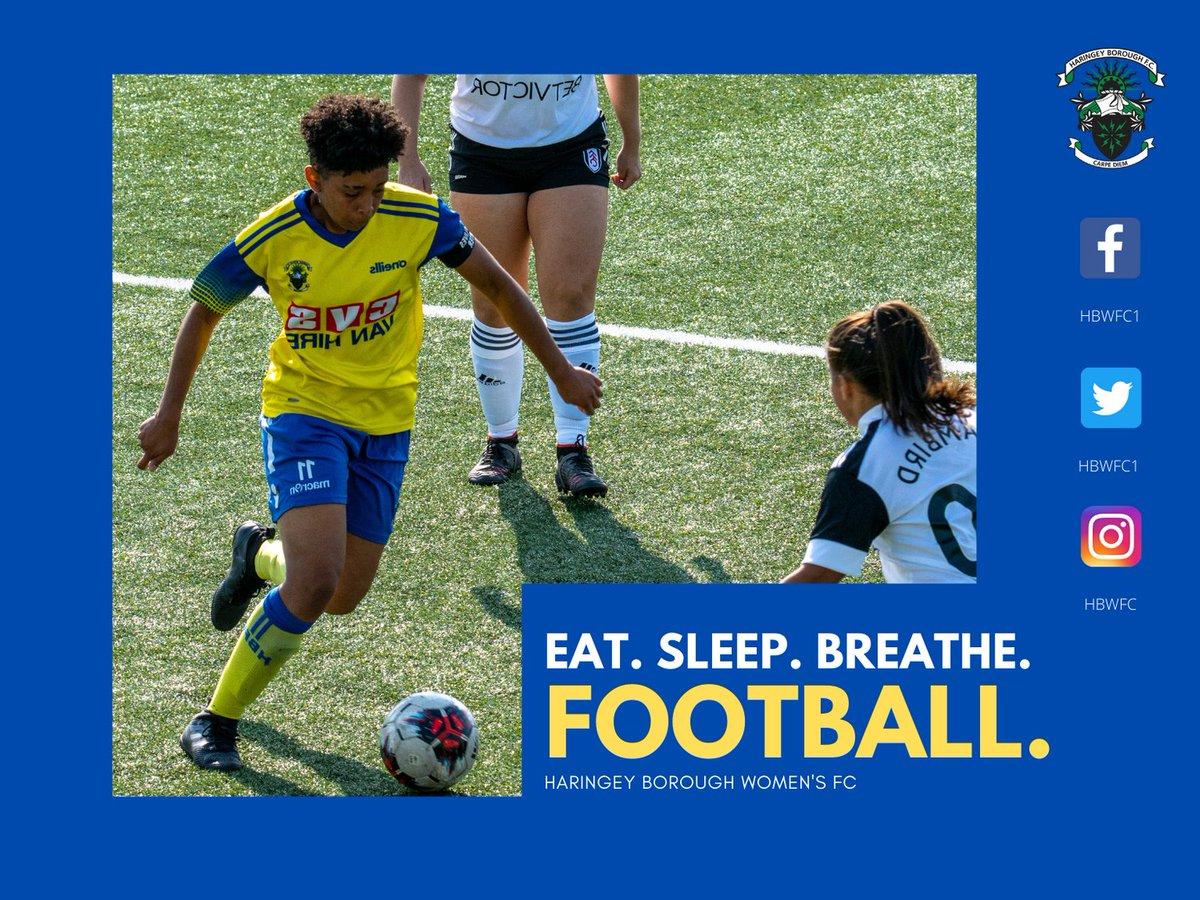 EAT. SLEEP. BREATHE. FOOTBALL  Thanks @dwl22 for the pics 👊  #Boro #UpTheBoro #CarpeDiem #womeninsport #womenssoccer #womeninfootball #ladiesfootball #ladiessoccer #womeninsports #womensfootball  @haringeyboroughfc @eweteabee  @WF_East @ERWFLe @london_fa @WePlayStrong_ https://t.co/6WTKWILSoi