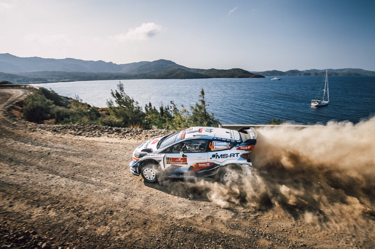 #ShotOfTheDay WRC Turkey '20 @GreensmithGus | @EAERallying  Credits to @MSportLtd https://t.co/RxuYT5ceKP