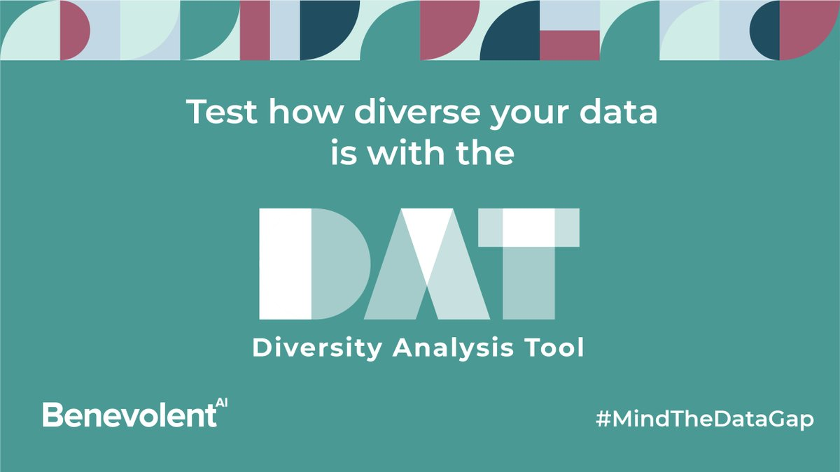 🚀Today we launched the Diversity Analysis Tool (DAT), a simple open-source programme that allows companies or researchers to measure the diversity of their data. We hope this will help to inspire new solutions to the #DataDiversity issue. #MindTheDataGap  https://t.co/4tfxFOYn3H https://t.co/YRu5Gvj2DY