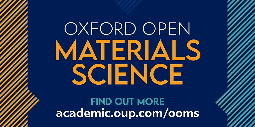 Find a home for your materials science research with the new #OpenAccess journal Oxford Open Materials Science, covering all aspects of materials science, from #biomaterials to #nanomaterials to quantum materials.  https://t.co/b9Zz3LU35r https://t.co/LymOTupMfF