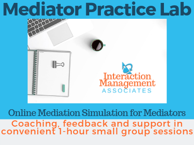 MEDIATORS: Refresh your skills and practice with peers from around the world.  Special pricing for 6-month package: https://t.co/h0agGX5Tc6  #mediation #mediationtraining #onlinemediation #odr #onlinedisputeresolution #mediate #mediator #mediatortraining https://t.co/BaD8m7pcKu