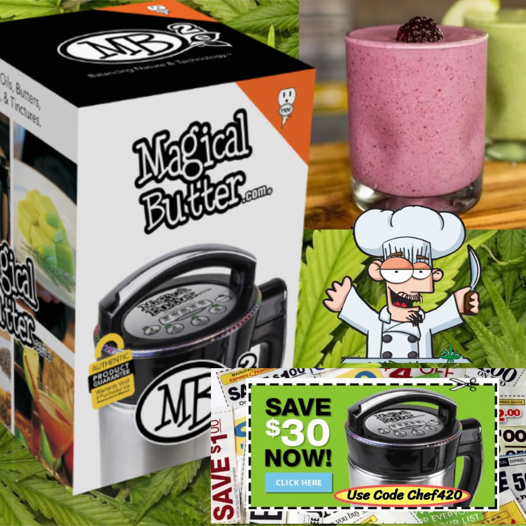 """Interested in getting a MagicalButter Machine? Chef 420s 12 point Review- Check it out, before you buy-Save with Code """"Chef420""""  >https://t.co/ED5YkcKG71  #Chef420 #Edibles #Medibles #CookingWithCannabis #CannabisChef #CannabisRecipes #InfusedRecipes @MagicalButter #CannaFa https://t.co/tCtBmjGzcC"""