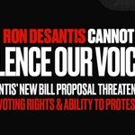 Imagen del comienzo del Tweet: Ron DeSantis nos ha mostrado