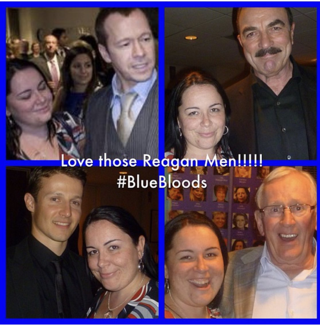 No idea where a decade has gone but @DonnieWahlberg thanks for creating these moments & memories even when I told you I need you to introduce us to Tom cause he scared me 😂 I treasure these always #BlueBloods @WillEstes101 @paleycenter https://t.co/5eIFlu2jrA