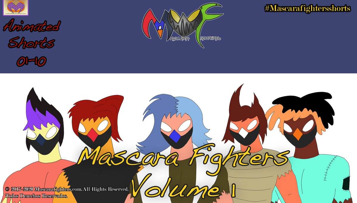 @mascarafighters Volume 01 Intro card #mascarafighters #hd #remastering #directorscut #worldwide #spanishversion #newcontent #intro #introcard #mascarauniverse #three #album #energyzoom #v3 #volume01 https://t.co/IMSQWVkivI https://t.co/qB58IAwT3w