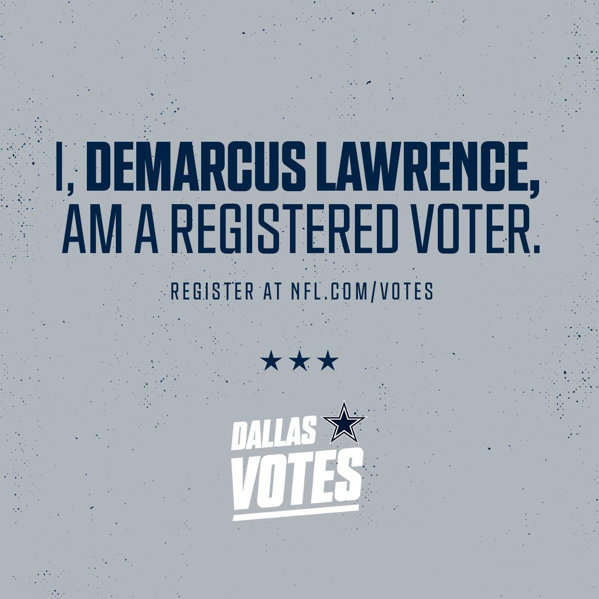 Be part of the change. Register to vote at nfl.com/votes #NFLVotes
