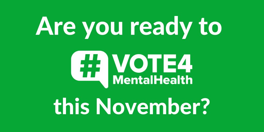 Don't forget to pledge to <a target='_blank' href='http://search.twitter.com/search?q=Vote4MentalHealth' rel=