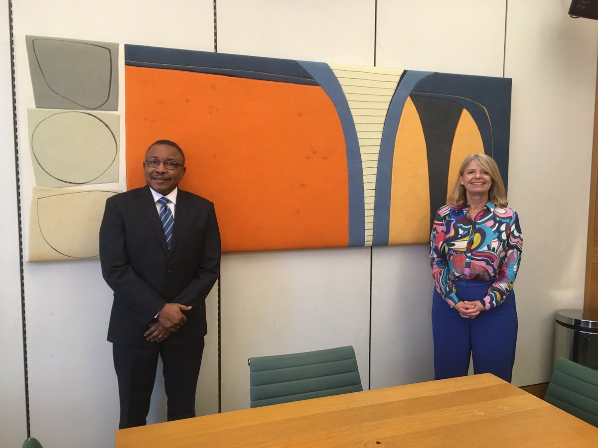 A wonderful meeting between APPG Chair @hbaldwin and Sudanese Foreign Minster Omer Ismail. Of the many topics discussed, educational partnerships stood out as a passion for both. https://t.co/COg1rFNAZH