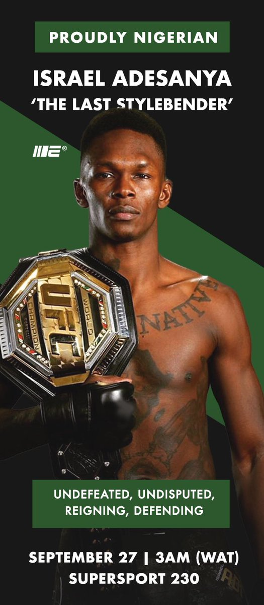 Definitely watching our champ @stylebender  on the 27th ... we are proud of you. Guys pls retweet for our champ o. Thanks 🙏🏾 https://t.co/p3NM8hkCNt