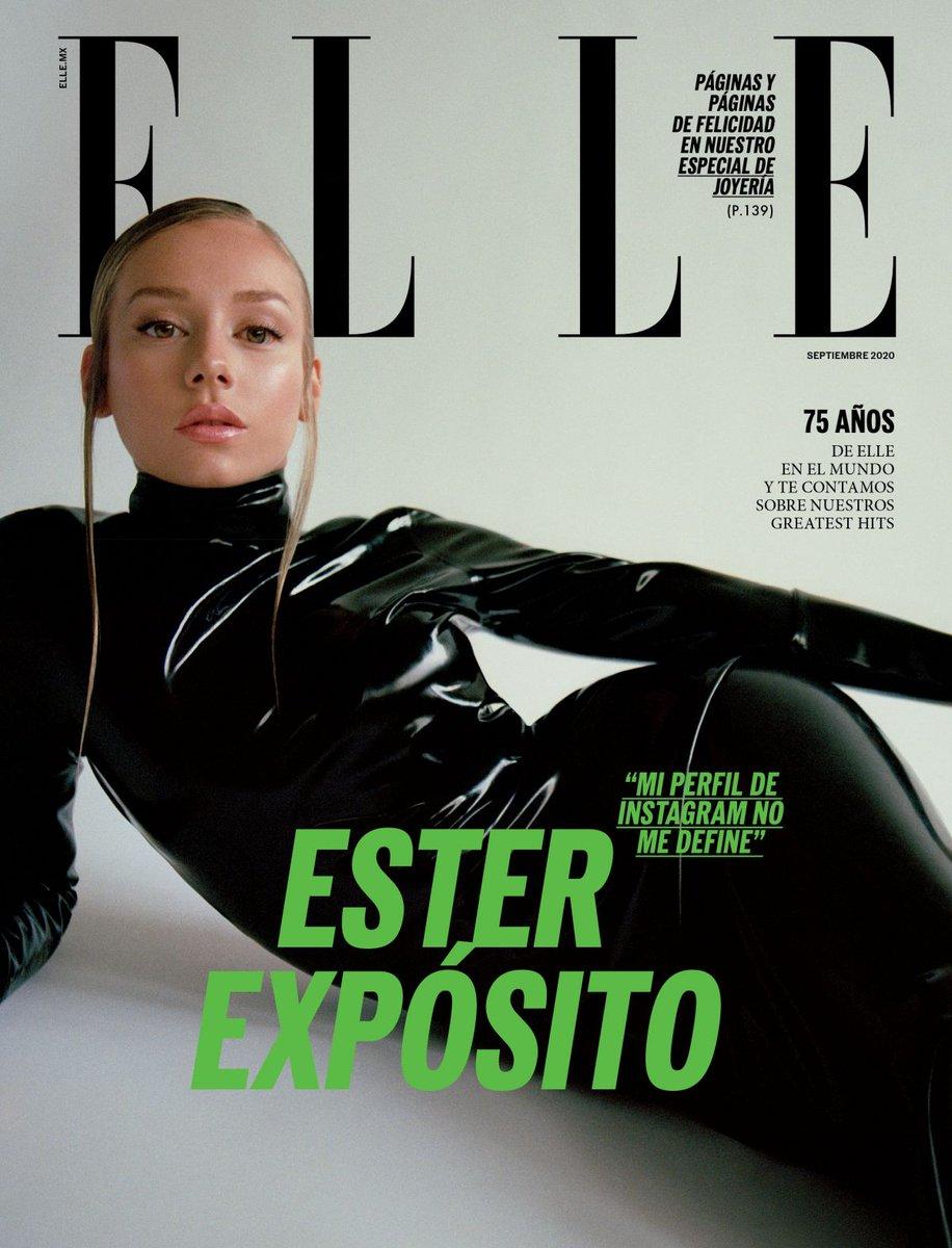 #esterexposito ESTER EXPOSITO on the Cover of Elle Magazine, Mexico September 2020 https://t.co/yLRQr9fbuC... https://t.co/xbkHw0hSLC
