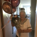 A very Happy Birthday to our one and only 'Twinkle Toes' ... Audrie turns 97 today and we are so happy to have Audrie in our Augustine House family! #happybirthday #dancingkeepsyouyoung #augustinehouse #forbetterretirementliving