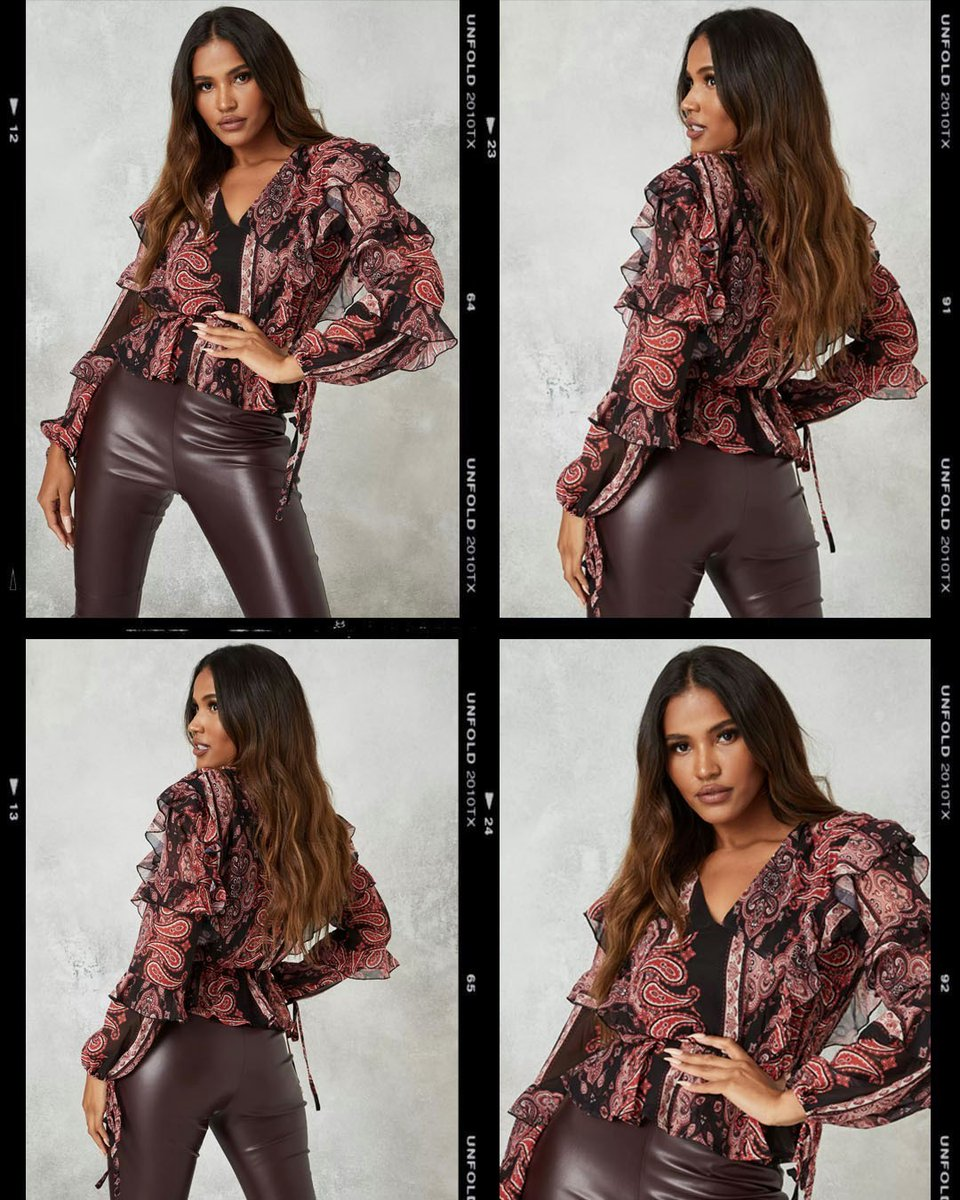 Suitable for: grabbing coffee or cocktails 🍷⚡Hit the link to shop all nine to wine styles including the 'tan paisley print frill detail blouse' (£25.20/$27) https://t.co/iTji2Qy5d0 + 'chocolate seam detail faux leather leggings' (£22.50/$24) https://t.co/ttracQljHe #missguided https://t.co/LmYvXhTaLh