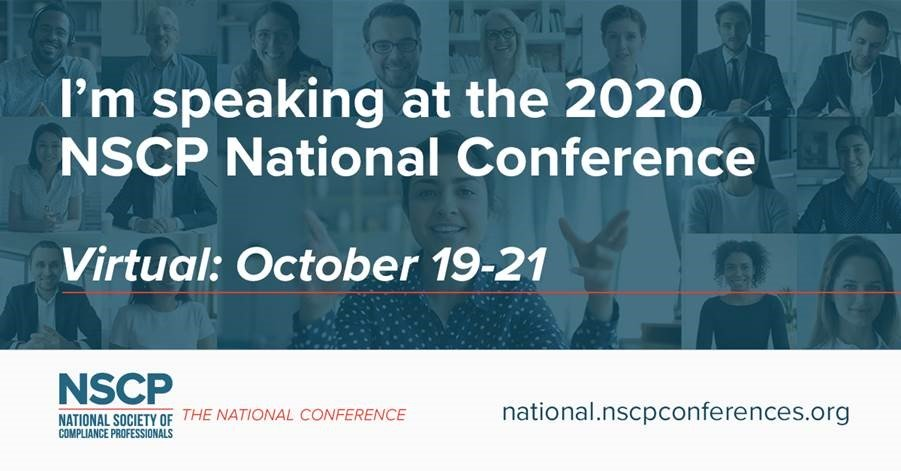 test Twitter Media - Michelle Jacko will be speaking at this year's NSCP National Conference!  https://t.co/clhGwSdyFC #compliance #NSCP #oversight #investmentadvisers https://t.co/qfNklbpAfT