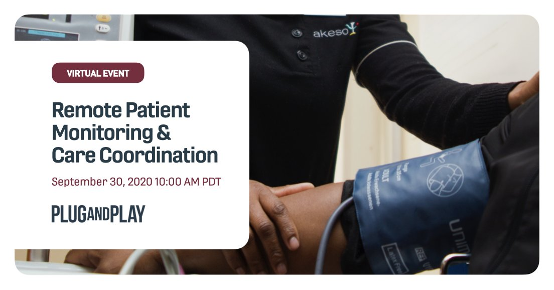 The patient journey is increasingly involving new channels of remote care and monitoring. Now is the time to deliver a stellar patient experience. Join us in exploring new models of care coordination and remote patient monitoring platforms.  Register 👉 https://t.co/sjfcXco2Jy https://t.co/pfuvn3gxA5