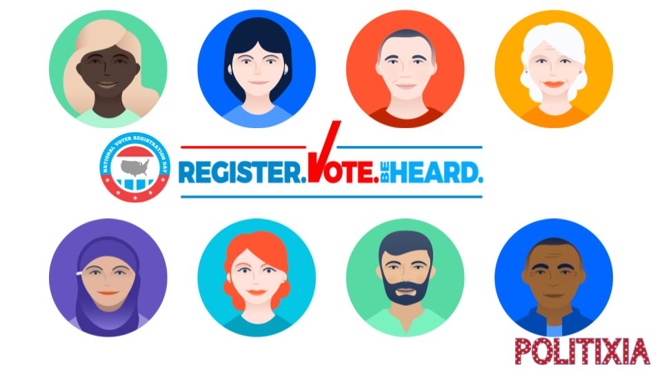 Please do not sit this election out. Make an informed decision about the things that are important to you, your family and network; then go and VOTE! The balance of power could change. #NationalVoterRegistrationDay #VoteNow #YourVoteMatters https://t.co/sDfsrNJzXF