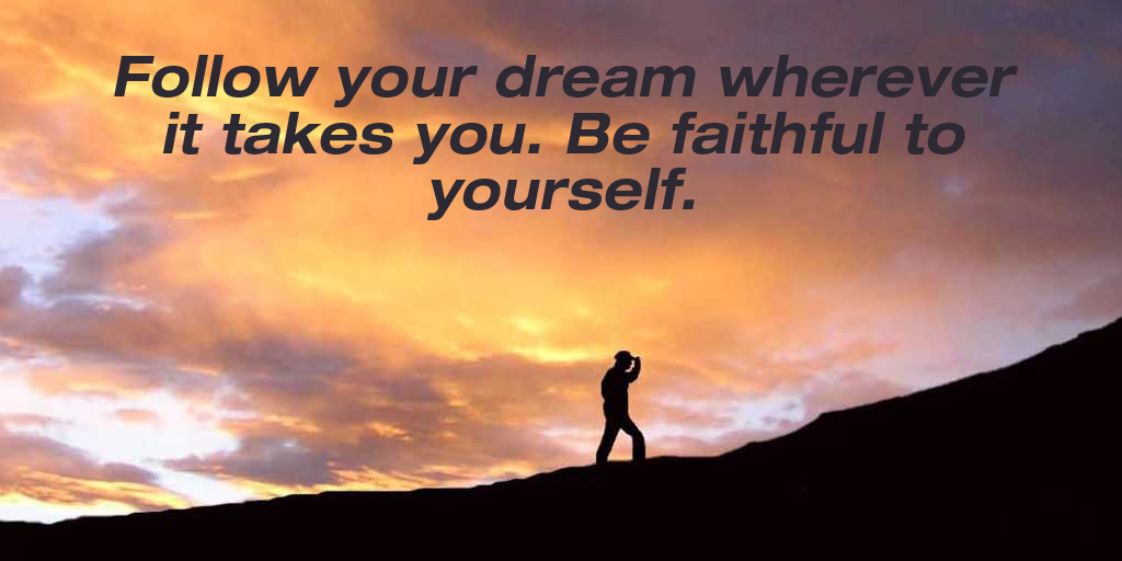 test Twitter Media - Follow your dream wherever it takes you. Be faithful to yourself. #quote #TuesdayThoughts https://t.co/jpxnQNRe7j