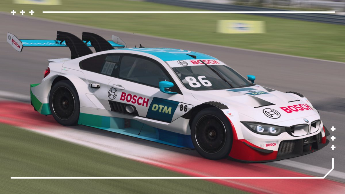 Wow. And here we already have the first BMW pole in the @DTM Esports Championship. 🎆🎇  @MoritzLoehner (team @SheldonvdLinde) in P1 has a clear view at the start of the second 20-minutes race.    NICE.  #BMWSIM @WilliamsEsports https://t.co/DXB9HWzQDT