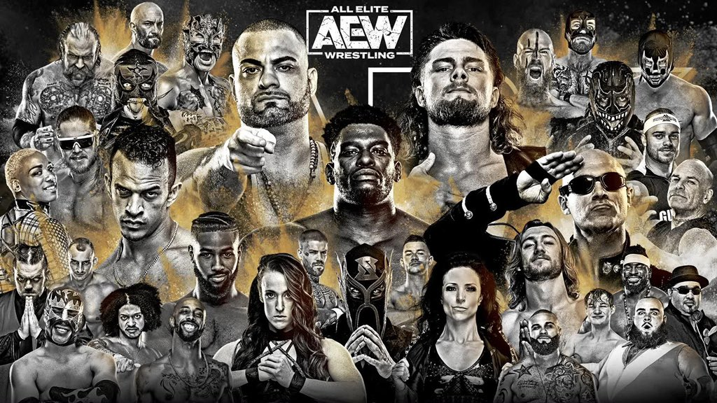 Big night. #AEWDark followed by #AEWLateNightDynamite on @tntdrama after the @Lakers game.