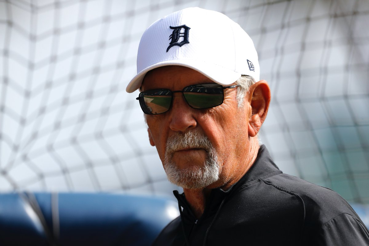 OK, fine, we're gonna spoil the surprise because it's too good not to.  Jim Leyland is one of three guests who will join you and your friends should you win. https://t.co/4ZYpul9WKo