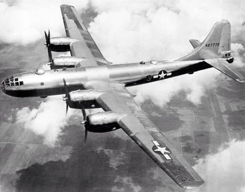 "The world's largest bomber has made its first test flight: Boeing B-29 ""Superfortress"" can carry its own weight, 20,000lbs, in bombs. https://t.co/2N7lVhYG0R"