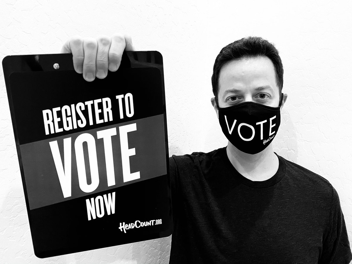 Today is #NationalVoterRegistrationDay. Celebrate with @HeadCountOrg and make sure you're #VoteReady. Register to vote or check your status now at: https://t.co/IMqPakaDfa https://t.co/g9wL7q8LAZ
