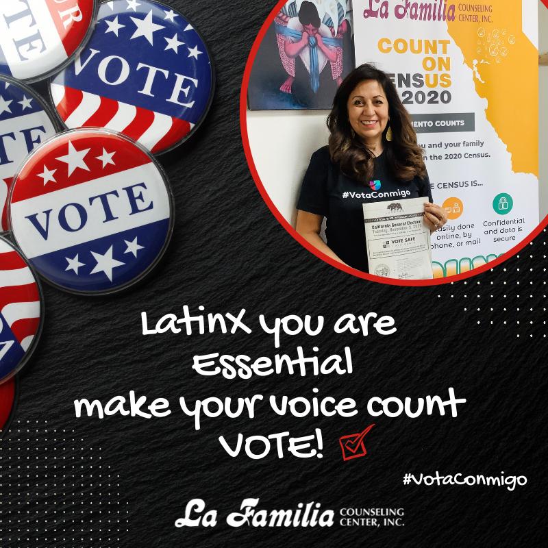 Our Voices Count!!! Today is National Voters Registration Day. If you are not registered you can register at https://t.co/E7h99lPQ5i🗳️ Ahora más que nunca nuestras voces cuentan, ¡hagamos historia juntos! Regístrate para votar hoy en https://t.co/lRJH42gvdk #SacLFCC #VotaConmigo https://t.co/nHbHgOXEzM