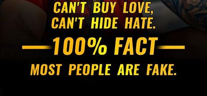 #hate #fact #love #fakepeople https://t.co/4ArEwJPMop