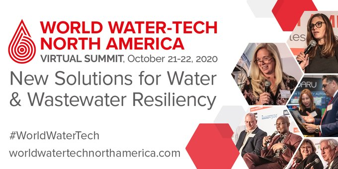 #WorldWaterTech is going virtual! Join Xylem's @al_cho at World Water-Tech North America Summit Oct 21-22 to explore new solutions for water & was...