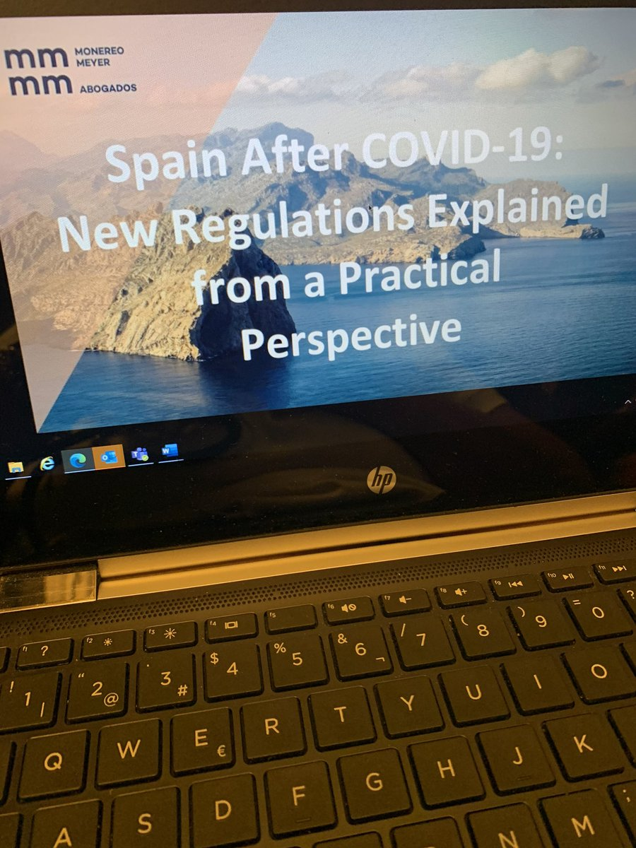 Don't miss our webinar! We're about to start! #doingbusiness #Spain https://t.co/Tn9UPTZoVr