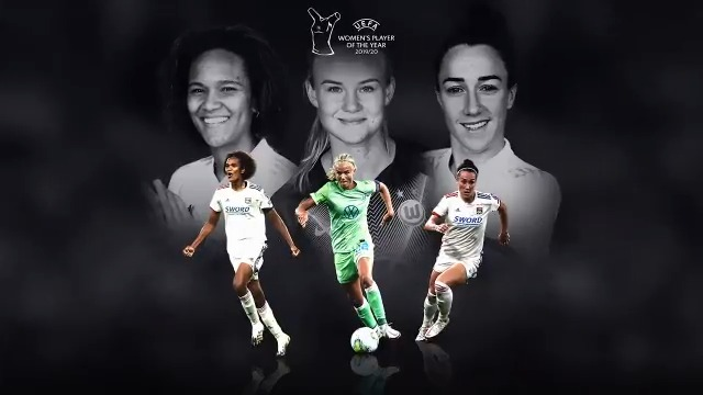 UEFA Women's Player of the Year - shortlist revealed https://t.co/nVv8lVQvwo 👀  🌟 @LucyBronze  🌟 @PernilleMHarder  🌟 @WRenard   🗓️ #UEFAawards winners announced at the #UCLdraw, 1 October 🏆 https://t.co/tkflhx46M8
