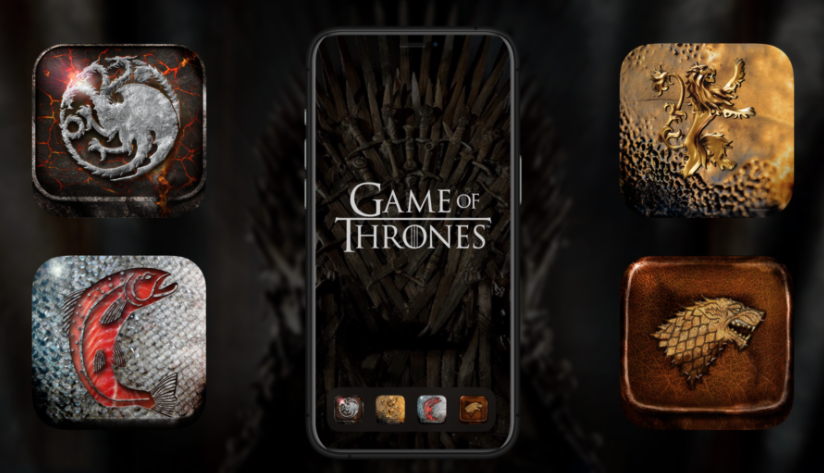 Decided to refactor my #GameofThrones icon designs for the #iOS14 update so now you can swap your boring bank app for some Lannister gold.  Get yer icons here -> https://t.co/aZH1OEHILC  #ios14icons #ioshomescreen #lannister #nobodywinsthethrone #monzo https://t.co/j3MyrVljaD
