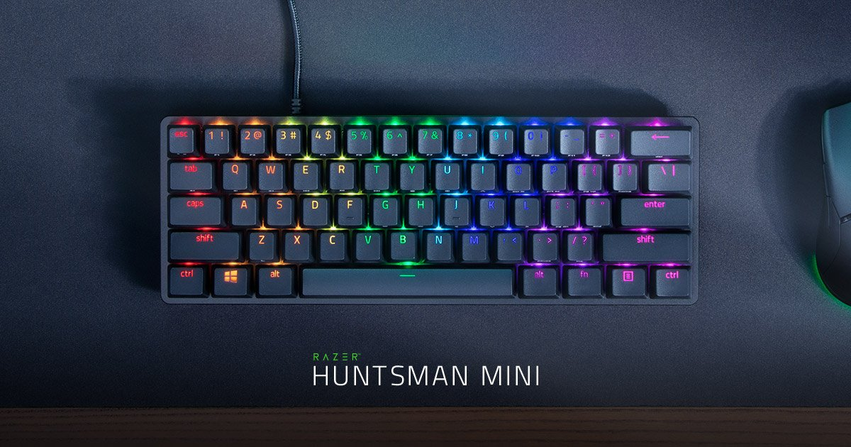 Parpy - HUGE Thanks to @Razer for sending me out this Huntsman Mini, this keyboard is made based on input from Pros so it's got all the perfect essentials you need for high level gaming or even casual  Would HIGHLY recommend buying this if you are looking for a great loud gaming keyboard