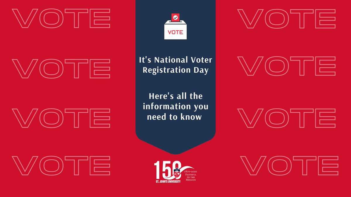 Happy #NationalVoterRegistrationDay! With election day around the corner, weve got all the tools, links, and resources you need to 𝗩𝗢𝗧𝗘 in NYC on Tuesday, Nov. 3rd, 2020. #VoteReady Need to request a mail-in ballot? Weve got you covered too! → bit.ly/32Ttis0